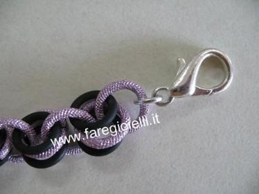 braccialetto con o-ring