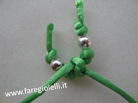Macrame- come fare- braccialetti quadrifoglio