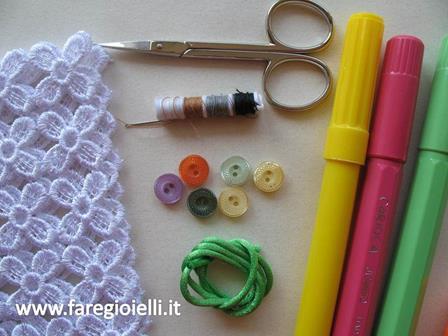 Macramè tutorial braccialetti quadrifoglio