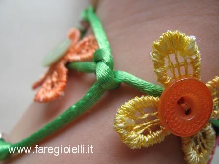 braccialetto macramè