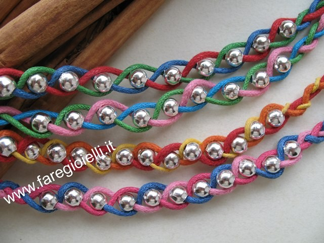 Braccialetti intrecciati Tutorial bracelet