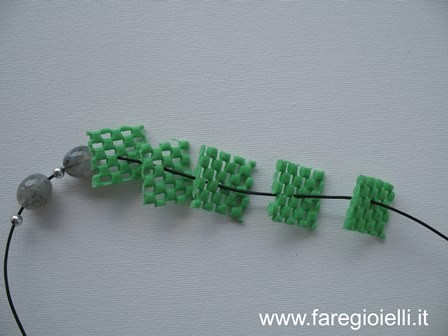 riciclo creativo plastica collane fai da te