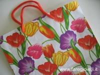 come fare gioielli con borse di carta
