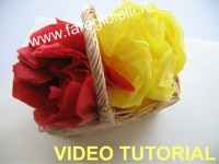 Video tutorial fiori di carta