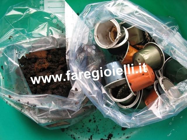 come riciclare le cialde Nespresso