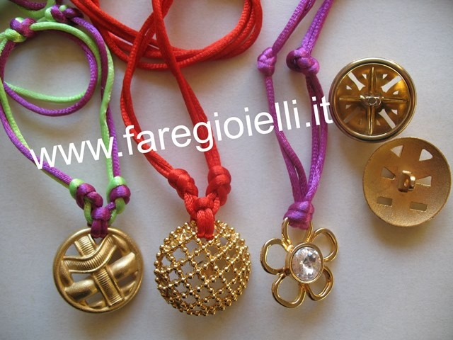 Preferenza Buttons Tutorial- Riciclo Collana Con Bottoni   Gioielli Fai Da Te  IA82
