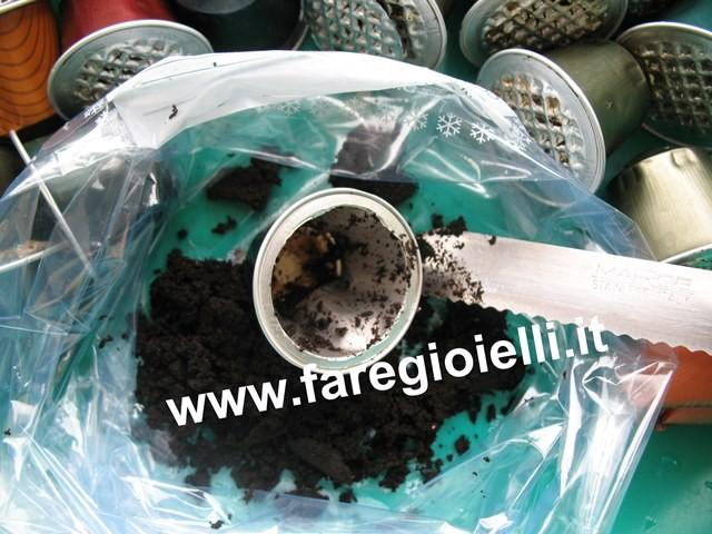 tutorial riciclo cialde caffè