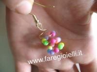 come fare orecchini con filo ferro-giorgia
