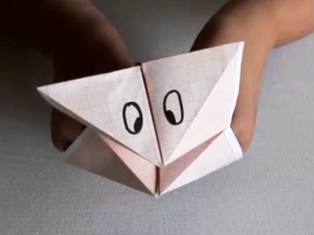 Paper Fortune Teller-video tutorial