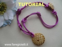 Button Necklaces Video Tutorial
