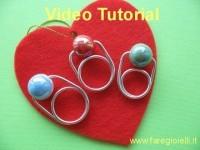 Video Tutorial Semplici Anelli -DIY Wire Ring