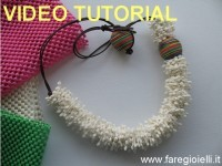 Plastic Necklace Tutorial Collane Di Plastica