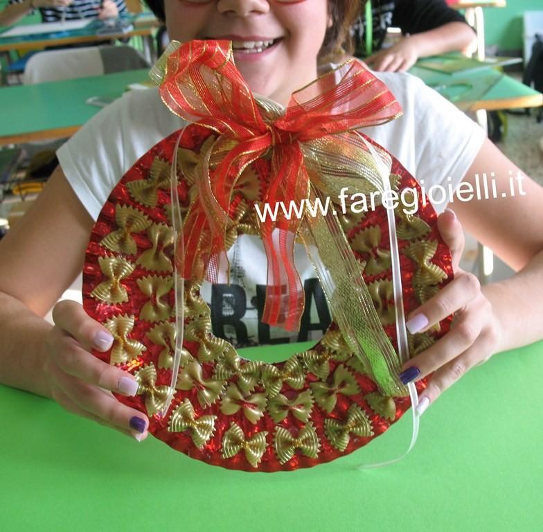 Popolare Tutorial Ghirlande Di Natale Con Pasta | Gioielli Fai Da Te e  LH65