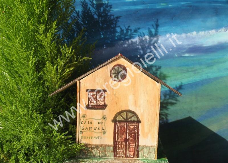 Casetta Di Natale Da Colorare : Tutorial casette di legno compensato gioielli fai da te e frasi belle
