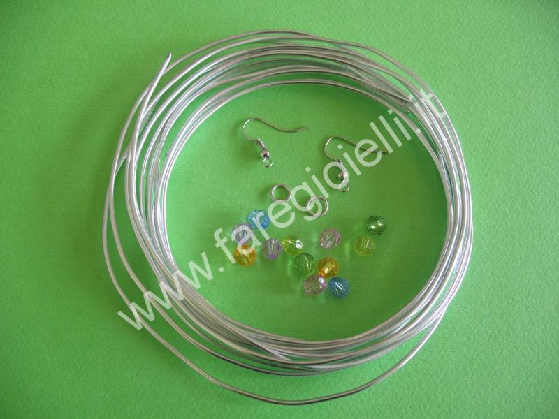 tutorial orecchini con fili metallici-1