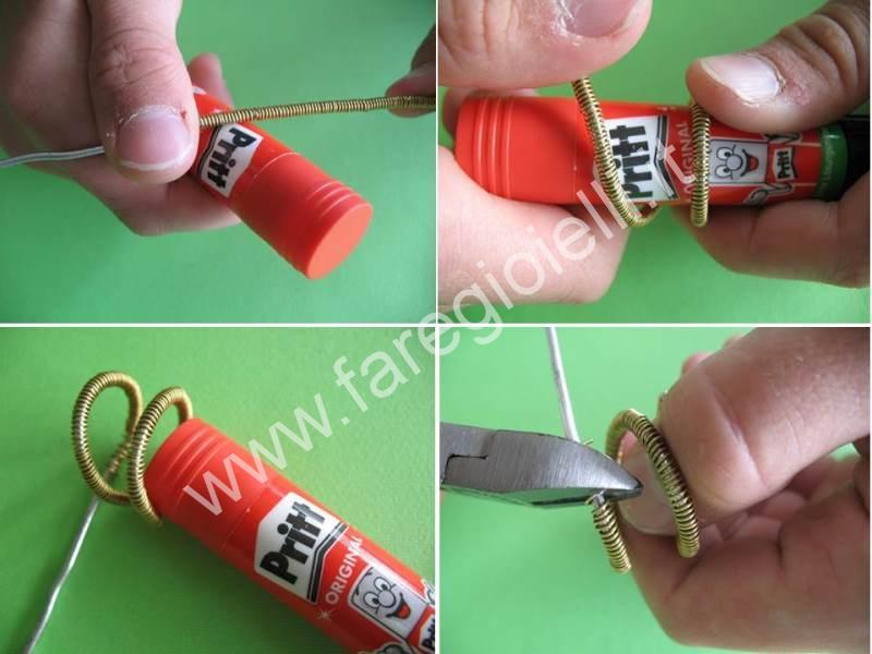 Come creare facili anelli fai da te tutorial gioielli - Tutorial fai da te ...
