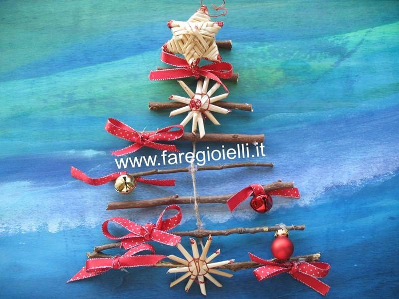 Idee Riciclo Albero Di Natale Con I Rami