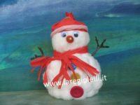 Handmade Idee Natale-Pupazzi Di Neve Fai Da Te