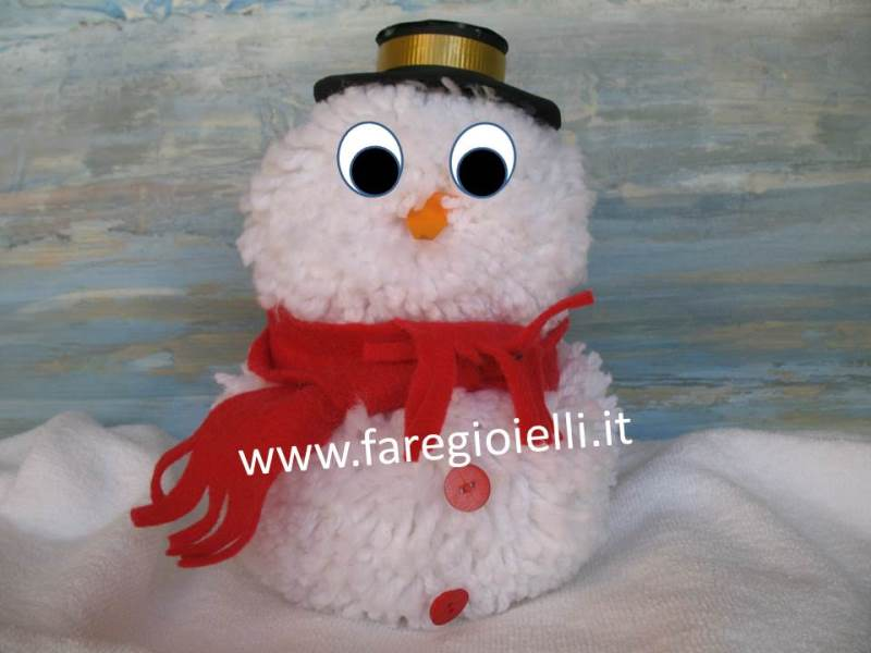 Lavoretti Di Natale Handmade.Handmade Idee Natale Pupazzi Di Neve Fai Da Te Gioielli Fai Da Te