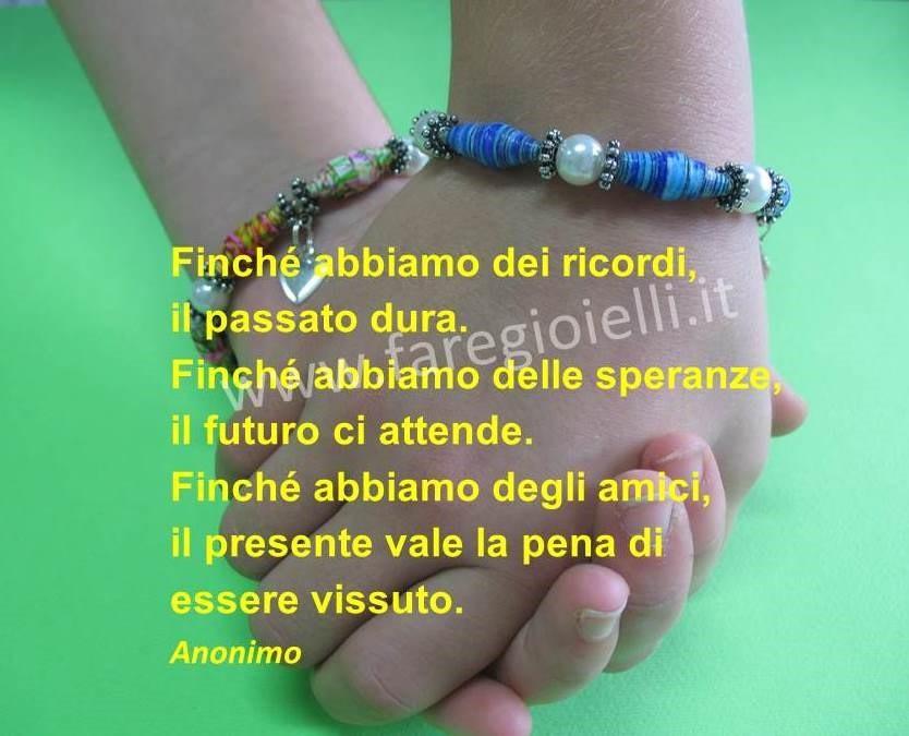 Favori Frasi Belle Sull'Amicizia 8.12.16 Lavori Di Carta | Gioielli Fai  VZ85
