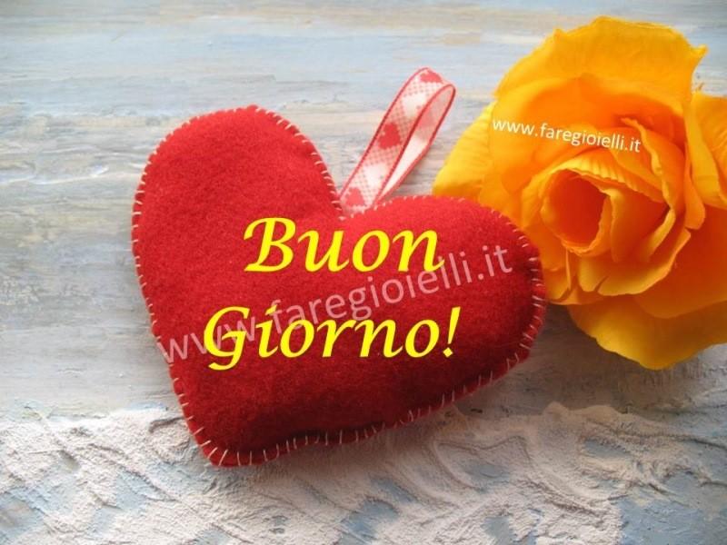 Amato Buongiorno! 1-12-16-Cuore Di Panno Fai Da te | Gioielli Fai Da Te  LS43
