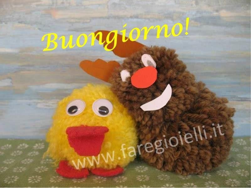 Top Buongiorno! Lavoretti Creativi Con Pon Pon 17.6 | Gioielli Fai Da  IM59