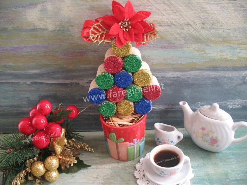 Conosciuto Lavoretti Di Natale Con Materiale Di Riciclo | Gioielli Fai Da Te  QM28