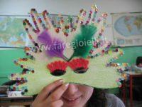 Lavoretti Per Bambini: Maschera Di Carnevale.
