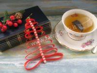 Albero Di Natale Con Nastro. Tutorial