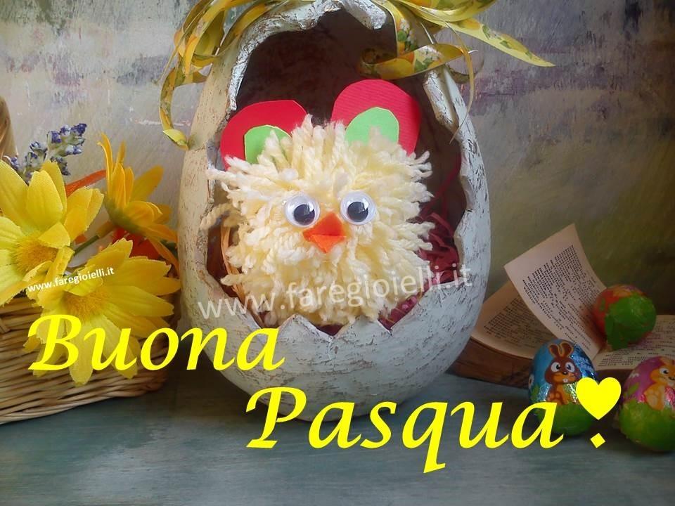 Buona Pasqua Con Pulcini Fai Da Te