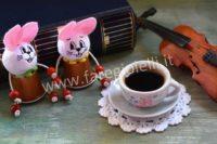 Idee Creative Con Cialde Del Caffè: Segnaposti